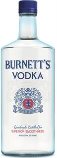 Burnett's Vodka 80@ 750ml - Case of 12
